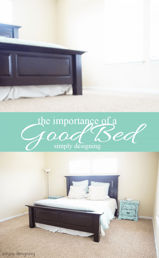 the importance of a good bed