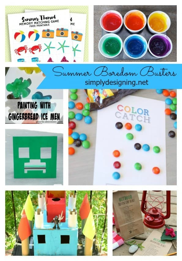Boredom Busters Collage Pinterest