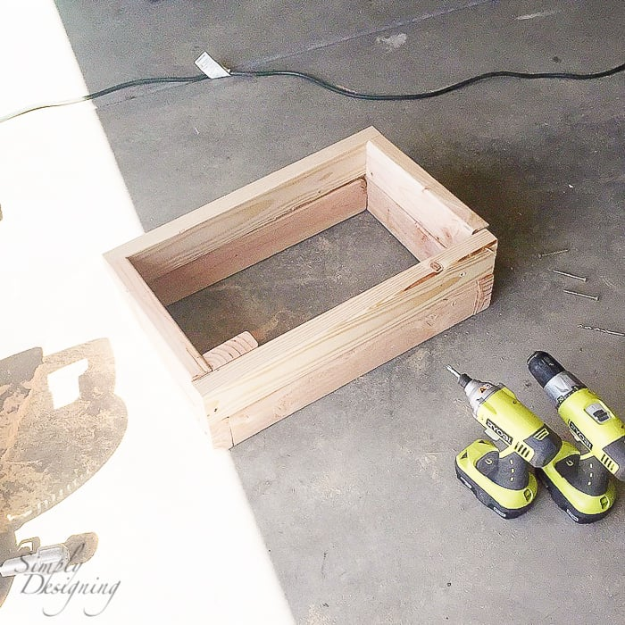 Build Base for Cabinets