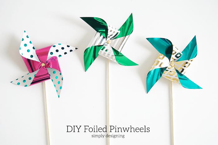 Foiled Pinwheels