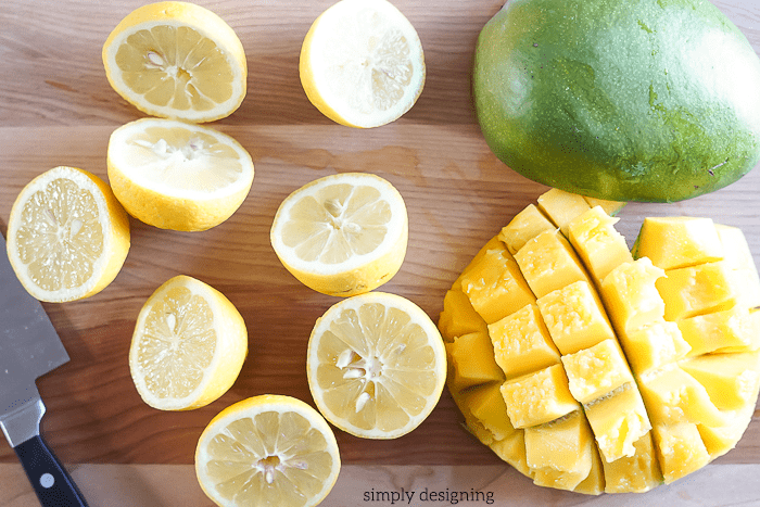 Frozen Mango Lemonade Recipe Ingredients - this is amazing