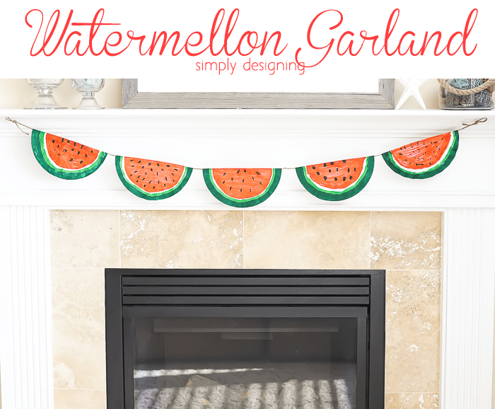 Watermellon Garland