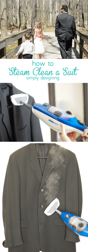 how to Steam Clean a Suit - it is really so simple to do this yourself at home