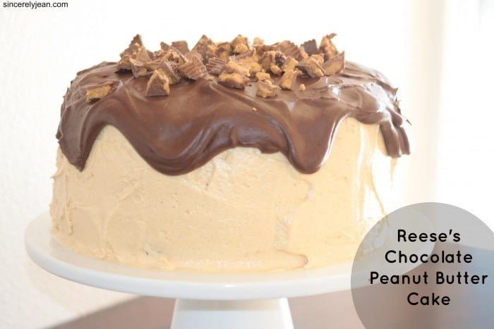 reese s peanut butter cake delicious cake recipes 7051