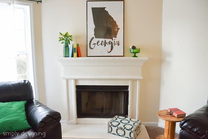 Living Room Reveal GMC Hidden Treasure Adventure Habitat for Humanity Home