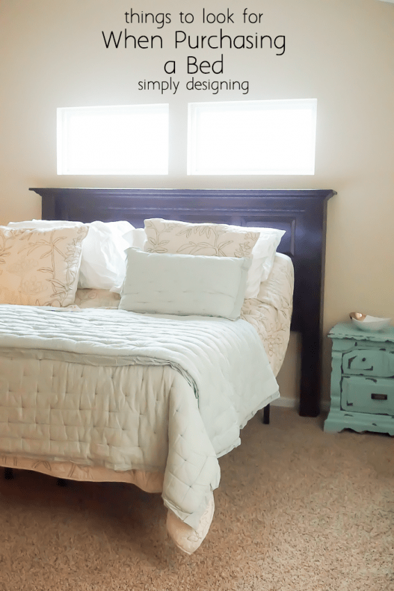 Tips for purching a new bed