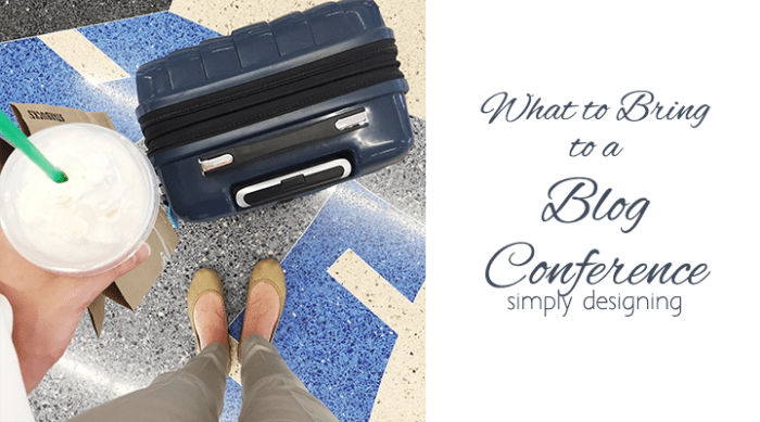 What to bring to a blog conference - featured image