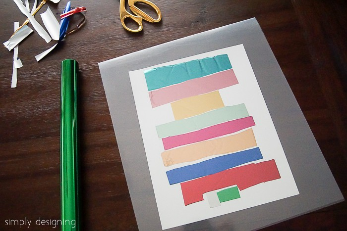 How to Foil a Printable