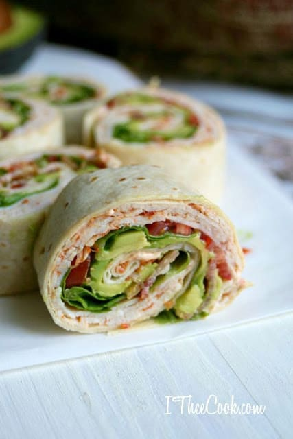 Zesty Turkey Club Pinwheels 2