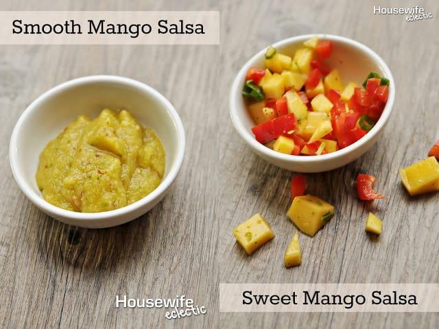 mango salsas