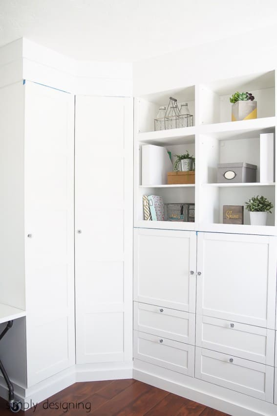 Building in Cabinets - IKEA Hack