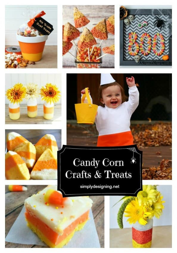 Candy Corn Round Up Pinnable