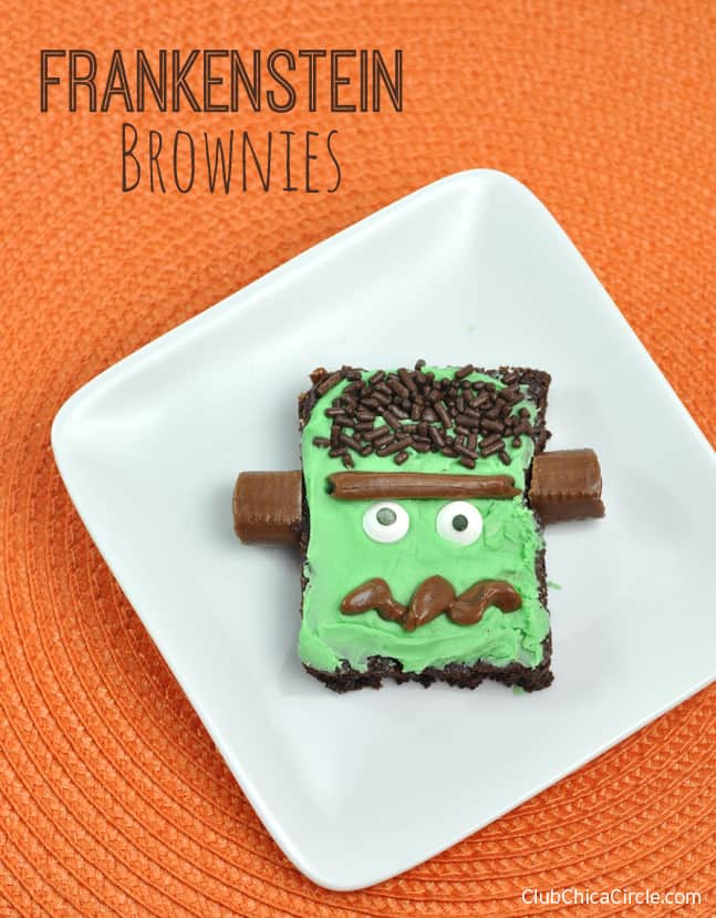 Frankenstein Brownie