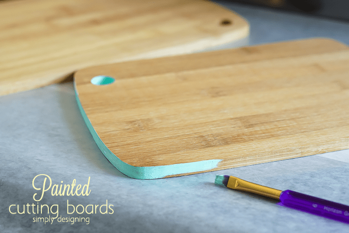 How to Paint a Cutting Board Edge