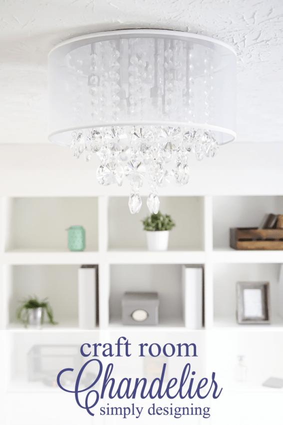 Craft Room : New Light Fixture : Part 4