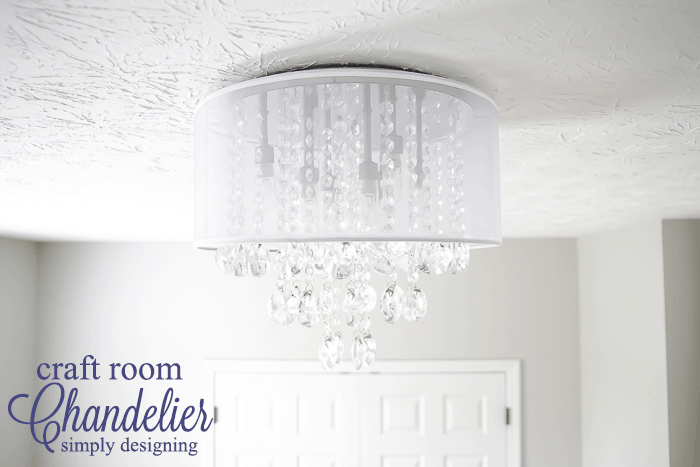 New Light Fixture for craft room