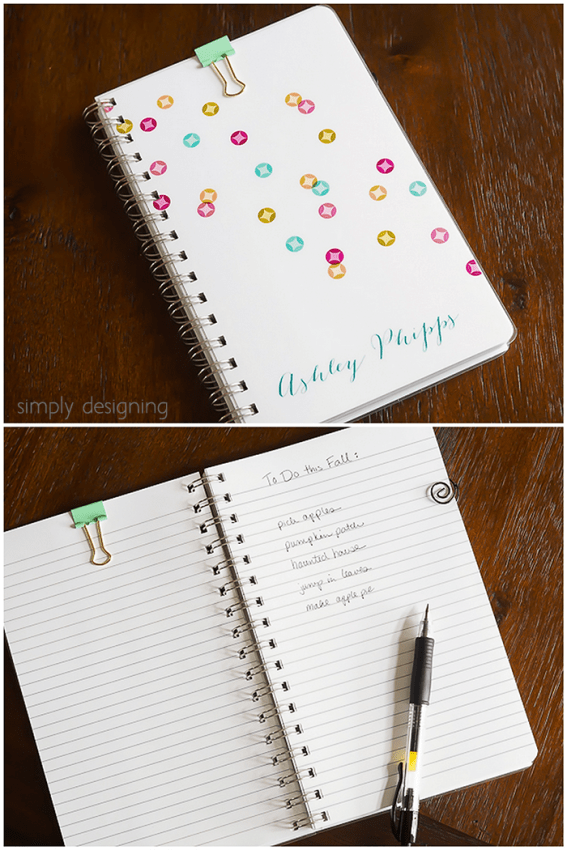 Notebook from Expressionery