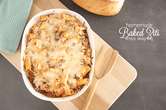 This is my favorite Baked Ziti Recipe