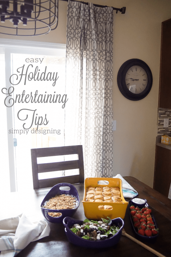 Easy Holiday Entertaining Tips