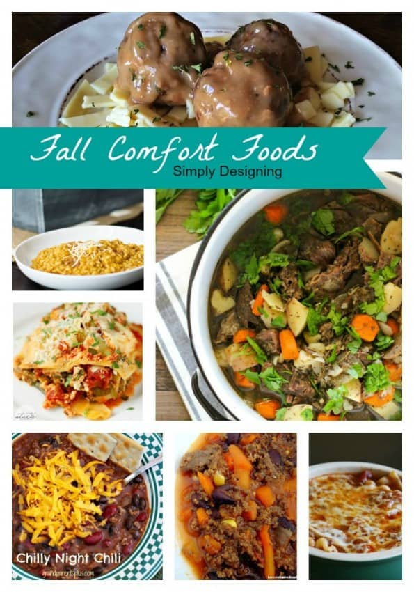 Fall Comfort Foods RU Pinnable
