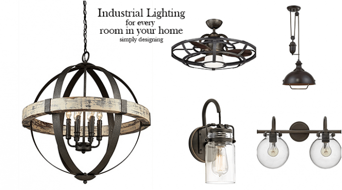 Industrial Lighting Ideas for Every Room in Your Home - featured image