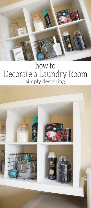 Tips for How to Decorate a Laundry Room and create a functional space