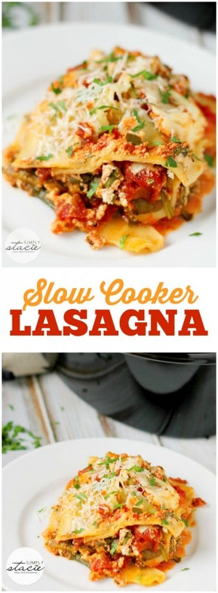 slow-cooker-lasagna-collage