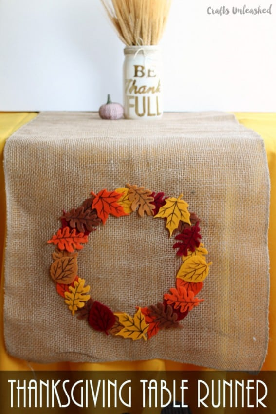 DIY-table-runner-fall-Thanksgiving-Crafts-Unleashed-1-667x1000