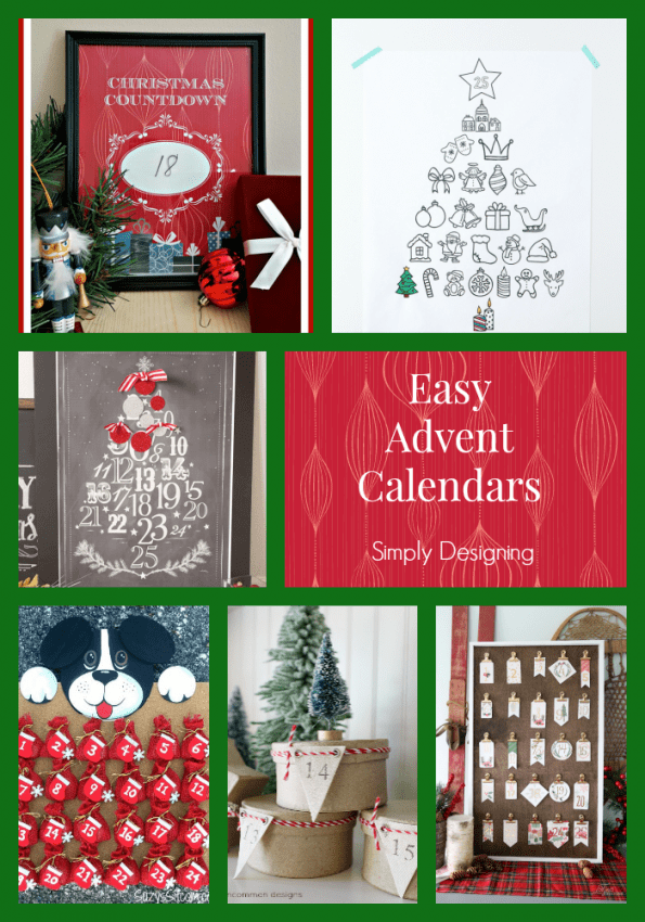 Easy Advent Calendars