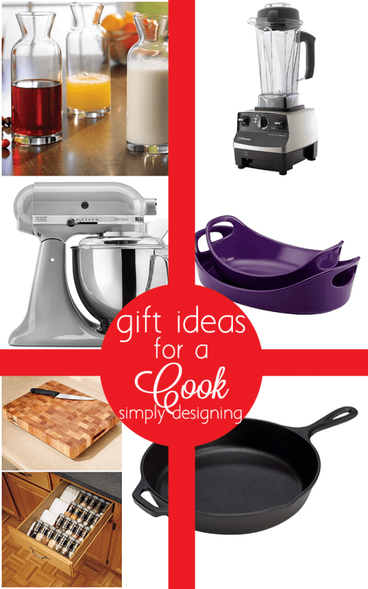 Gift Guide for a Cook - best ideas for the chef or foodie in your life