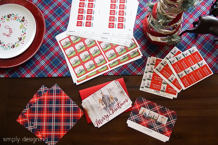 how to have a Stress-Free Christmas - Christmas Cards