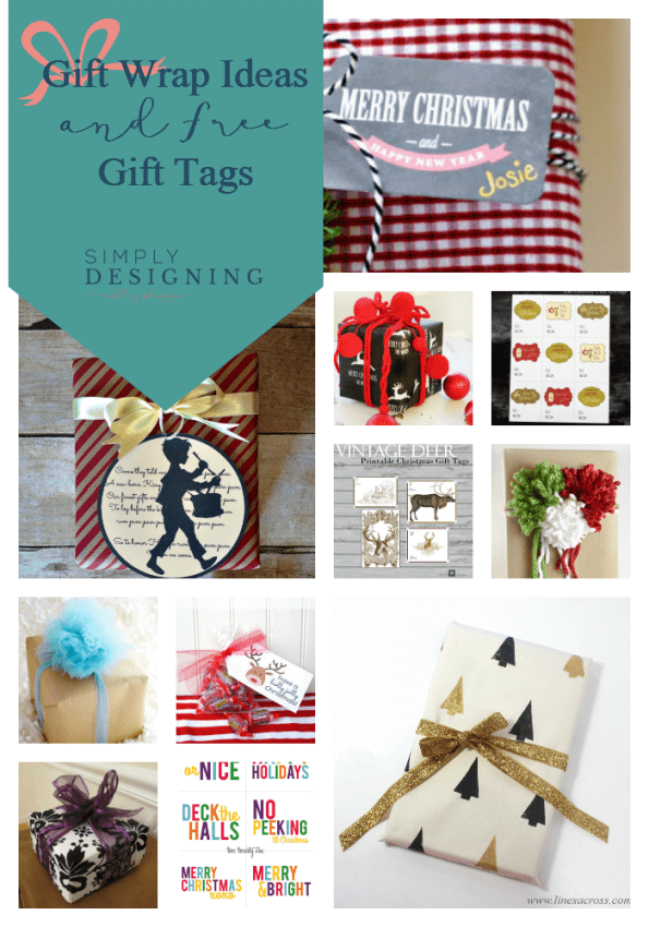 Gift Tag and Gift Wrap Ideas