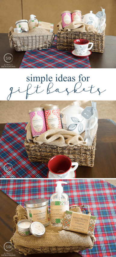 Simple gift basket ideas negle Images