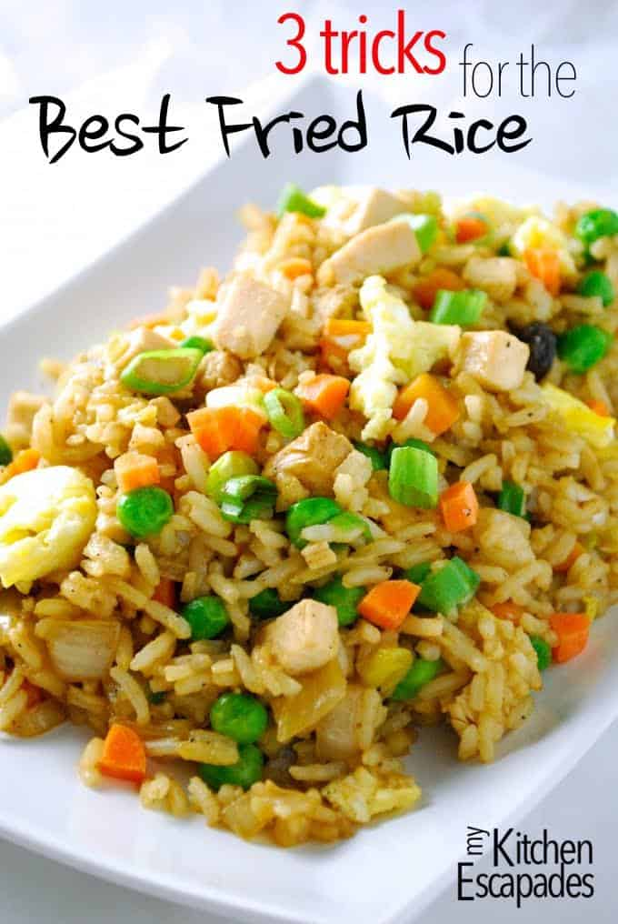 3 Tricks for the Best Fried Rice