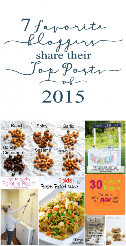 7 Favorite Bloggers Share Their Top Posts of 2015