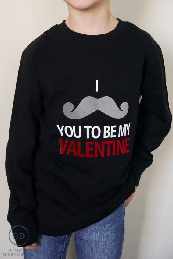 DIY Valentines Day Shirts