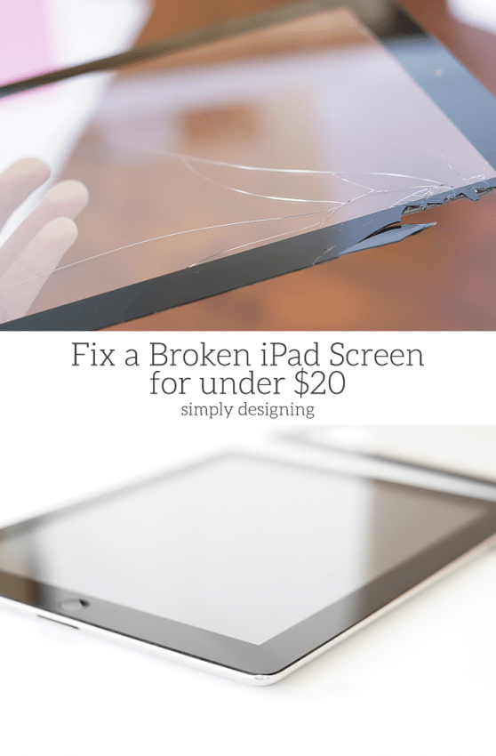 How to Fix a Broken iPad Screen for under $20