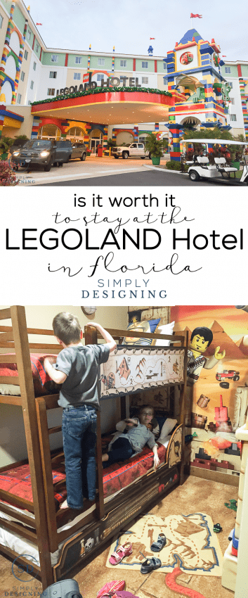 Is it worth it to stay at the Legoland Hotel in Florida