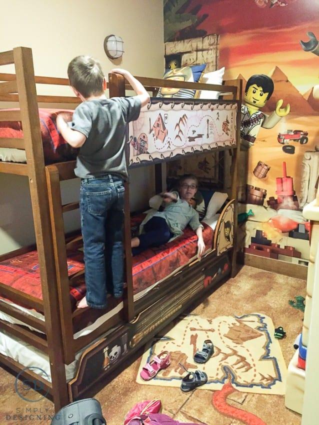 Legoland Hotel - bunk beds