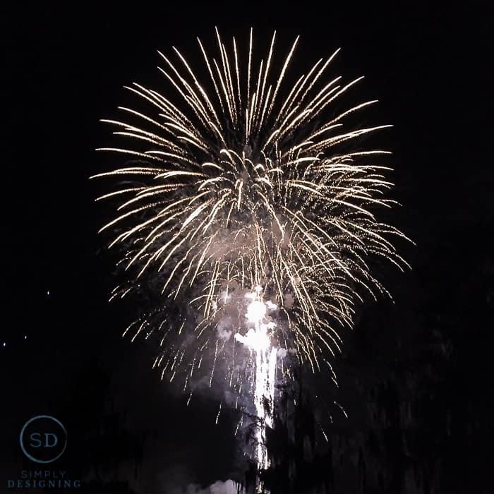 Legoland Hotel - fireworks