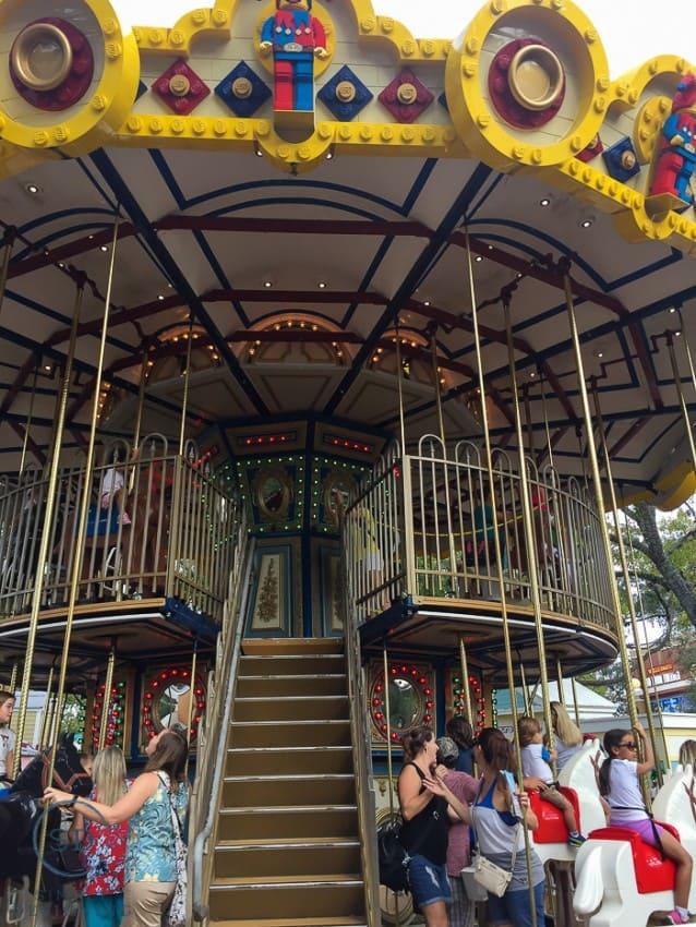 Legoland - double decker carousel
