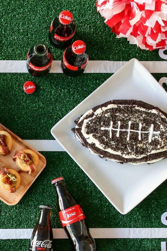 Football OREO Cake Recipe