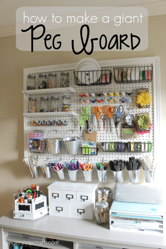 How to Make a Giant Pegboard